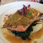 The salmon is to die for!