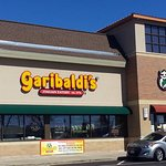 front of & entrance to Garibaldi's