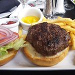 Great burger with perfectly seasoned fries
