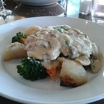 Husband's meal - veal scallopini