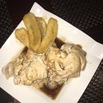 Elk Steak and Dr Pepper and Bananas Fosters for dessert  Change your plans and come here!!!
