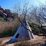 The meditation teepee
