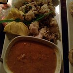 calamari with awesome tomato based dipping sauce