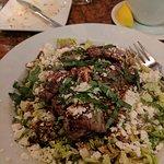 Greek Salad with Tenderloin