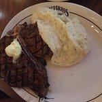 Steak and mash potato