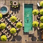 Aerial of Pool