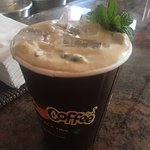Mint mojito (iced coffee)