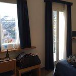 Nice balcony, room with mini bar