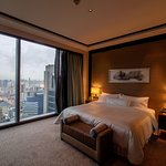 Classy, modern room with fantastic view