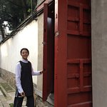 "The ""secret"" door to the Summer Palace"