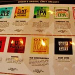 laminated sheet of beers they have