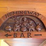 The bar where Hemingway sat on a stool downing his favourite drinks