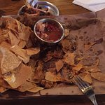 The atmosphere & margarita were great! Only reason we went is for the nachos. Was very disappoin