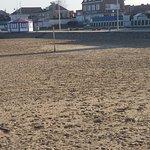 Hôtel donnant directement sur la plage