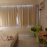 Nice room with A/C, good light and well maintained bath room