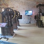 A view of the various machinery in the Olive Oil Museum