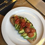 Great breakfast at sublyme this morning, avocado and tomato on sourdough. Beautifully and carefu