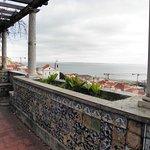 Joli balcon avec vue sur l'Alfama