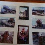 Bilder vom Bau des Schiffes