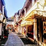 Small narrow streets