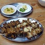 Isaw ( intestinos de pollo)... DELICIOSOS!!!!