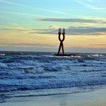 Alfa & Omega, icono, playa de Torredembarra