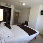 lit double chambre classique