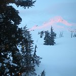 Sunset view of Mount Hood