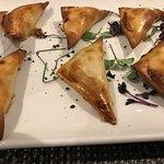 Andalusische Fleischkrapfen.