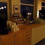 breakfast drink area