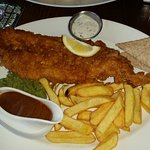Fish and chip special brown or white bread x