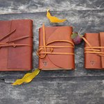 Notebooks from leather (200 pg. vintage style)