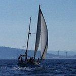 vessel sailing next to us