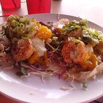 Perfect 10 Jerk Shrimp Taco w/ Pineappple Mango Salsa!!