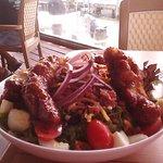 Tasty BBQ Chicken Cobb!