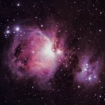 M42 Nebula in Orion from the Parador by Stephen Heliczer