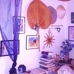 Inside a studio at Tilly's...