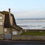 Vue du balcon de la chambre à marée basse