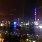 View from room over the river and to Pudong