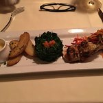My salmon dinner.