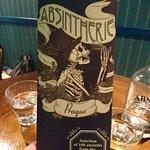 The Absinth Menu