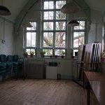 The old school rooms at Ivinghoe CuriosiTEA ROOMS