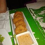 thai fried shrimp cake....very delicious