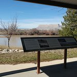 Views of the river and informative signage