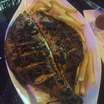 Grilled small fish $40dh. ($13 us). Great food and prices.