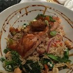 Salmon rice bowl......yummy!