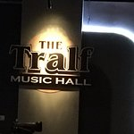 The Tralf - sign on wall