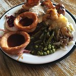 The best carvery ever! Staff friendly and welcoming.  Clean and pleasant pub.