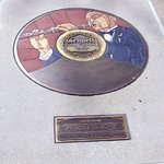 Gennett Records Walk of Fame located in the Whitewater Gorge Park, Richmond, IN