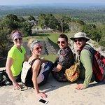 Us at the Mayan ruin